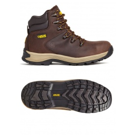 APACHE AP315CM SAFETY WORK BOOT Brown