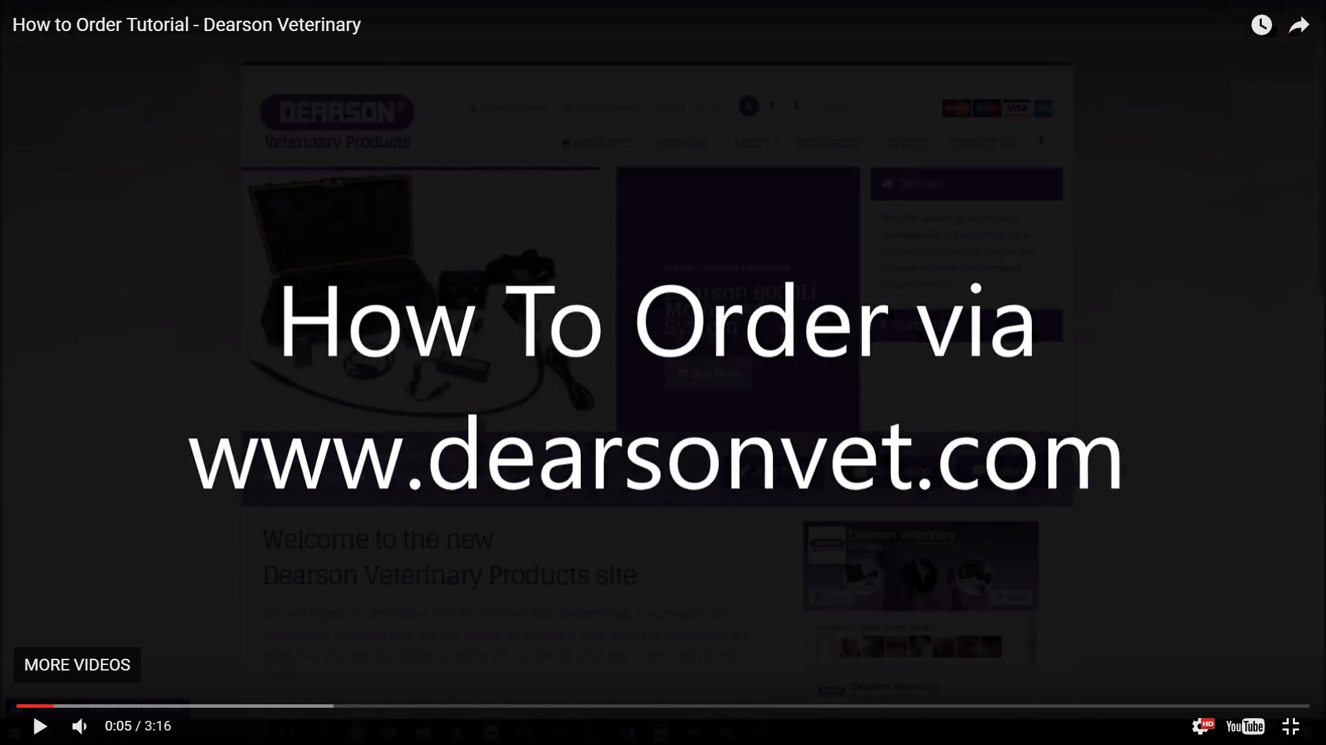 How to Order - Tutorial